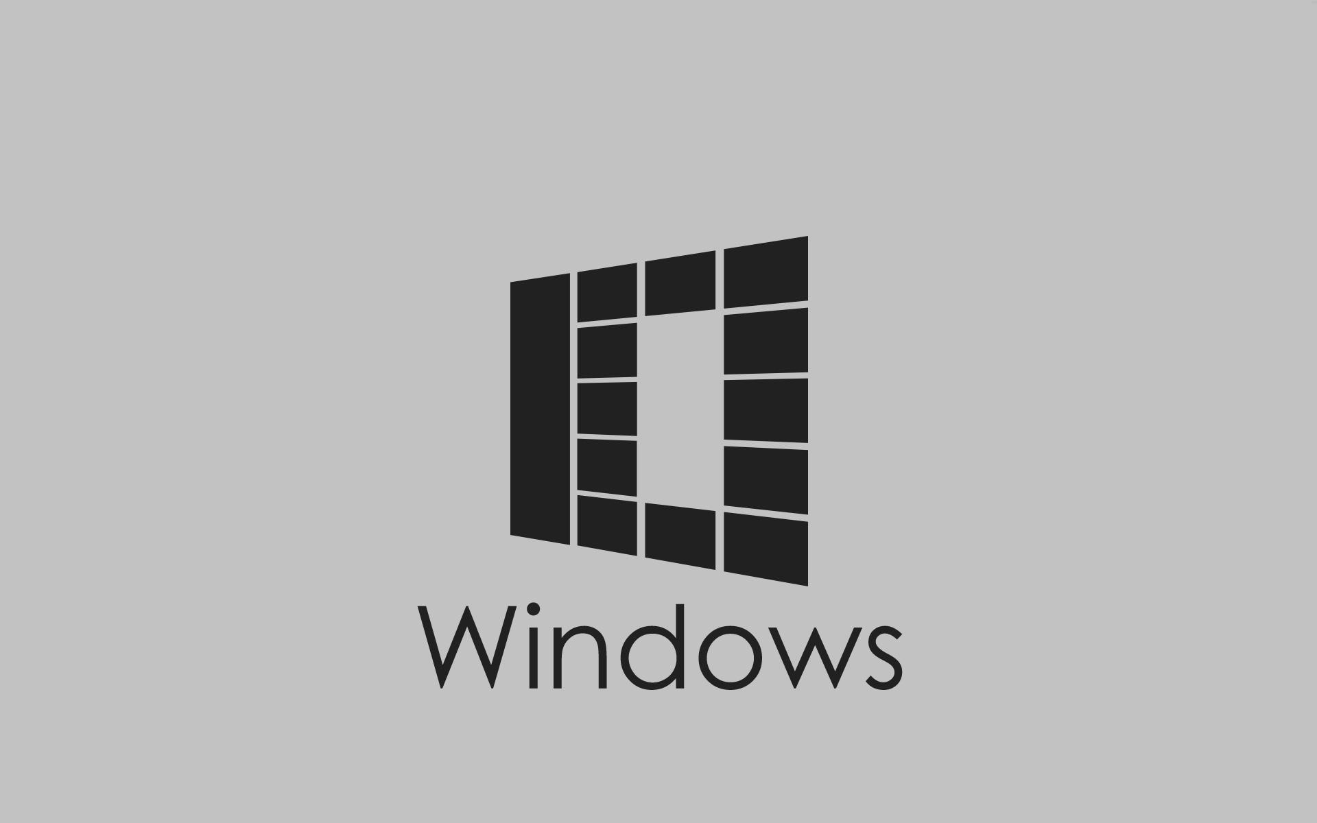 Windows 10 Wallpaper 1080p Full HD Grey Abstract 10