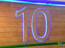 Windows 10 Wallpaper 1080p Full HD Illuminated Wooden 10