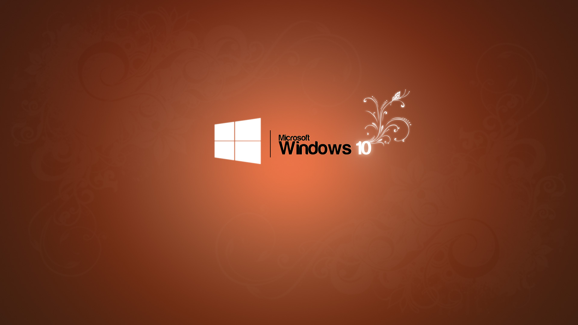 Windows 10 Wallpaper 1080p Full HD Logo