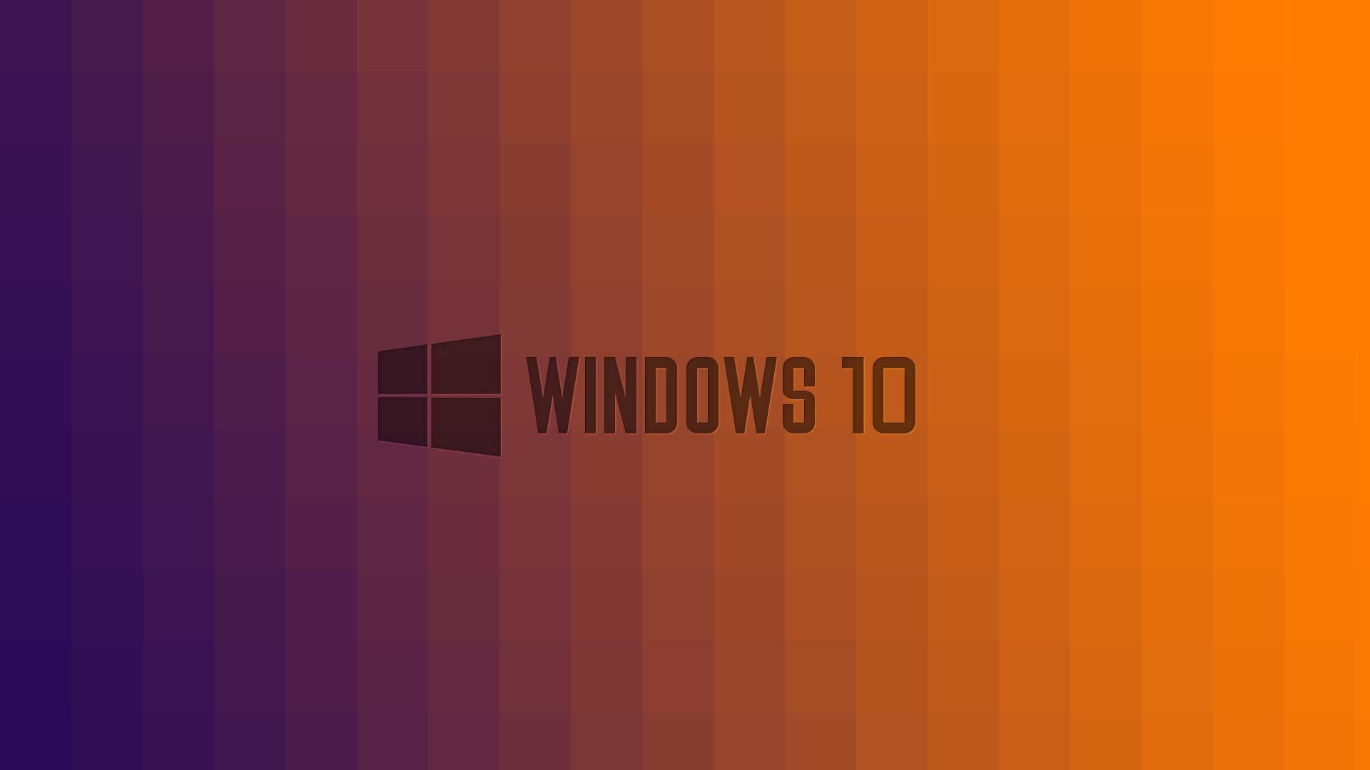 Windows 10 Wallpaper 1080p Full Hd Purple To Orange Fade Hd Desktop