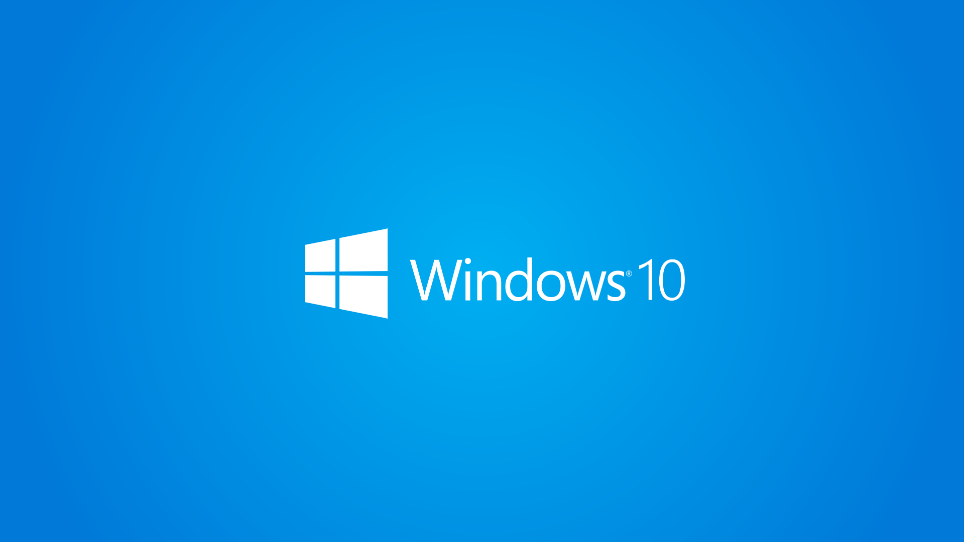 Hd wallpaper samsung - Windows 10 Wallpaper 1080p Full Hd White Logo Blue
