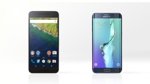 Google Nexus 6P and Samsung Galaxy S6 Plus