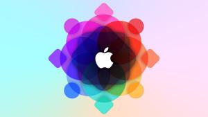 Apple iMac and MacBook Retina Display Wallpaper 5K Apple Logo Design 5120x2880